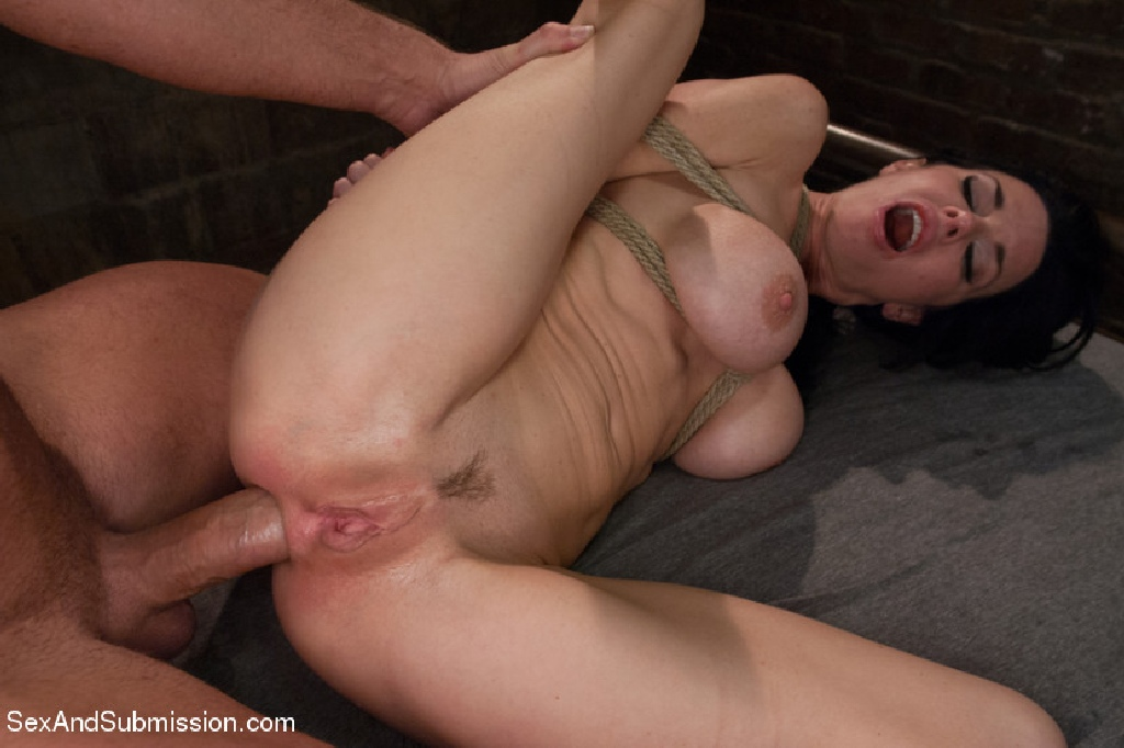 Veronica Avluv, Busty MILF Veronica Avluv reduced to ruthlessly fucked bondage whore, Busty MILF, Mark Davis, anal, MILF, Sex and Submission, Domination, Rough Sex